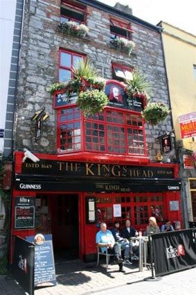 The Kings head Galway