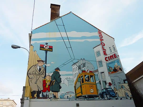 Murals Belgium