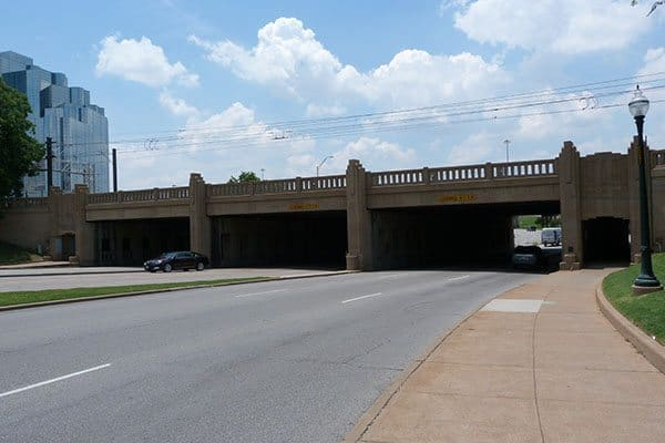 Triple underpass at Dealy Plaza, Dallas