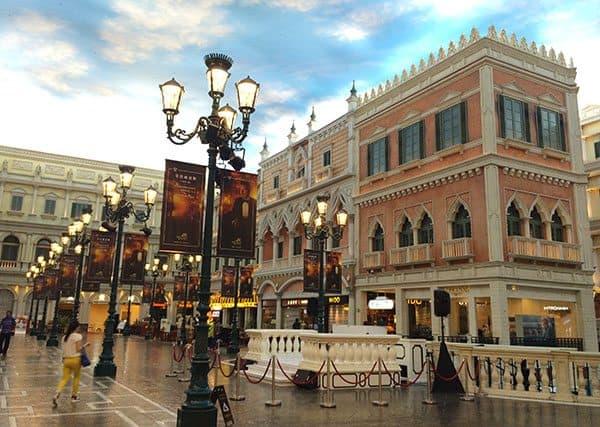Venetian shoppes Macau