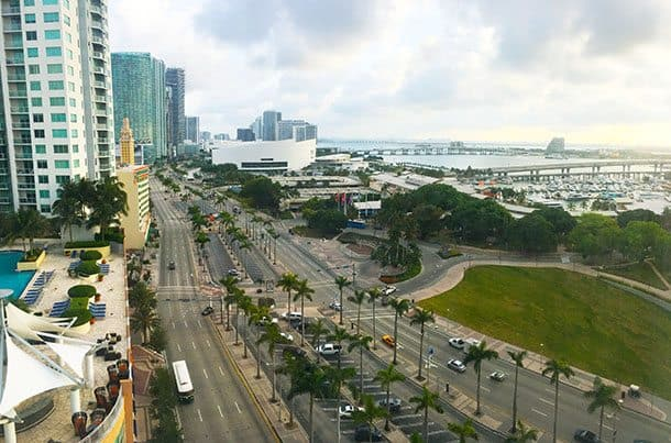 YVE hotel view Miami