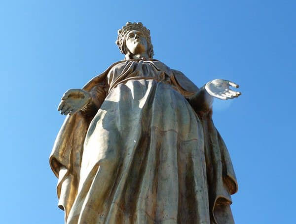 Virgin Mary statue Ephesus