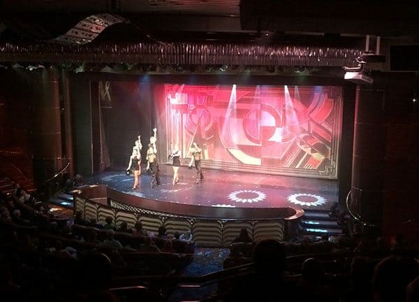 Vision of the Seas theatre