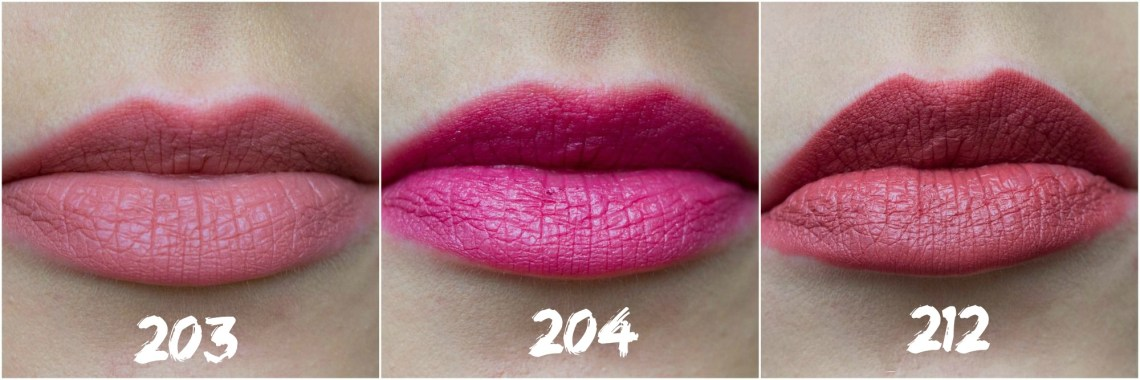farmasi-lip-pencils-review-203-204-212-lip-swatches