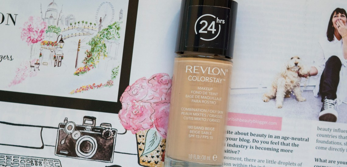 Revlon ColorStay Review, Combination/Oily Skin, 180 Sand Beige
