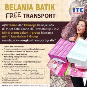 belanja batik free transport
