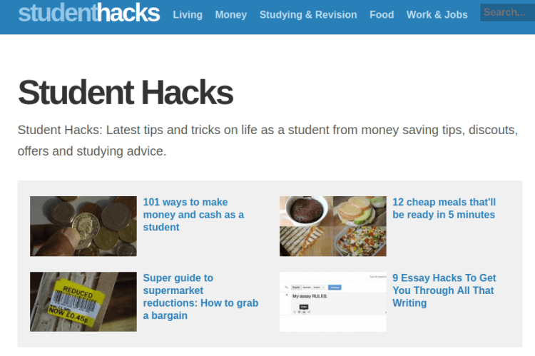 Blogs For College Students - Student Hacks