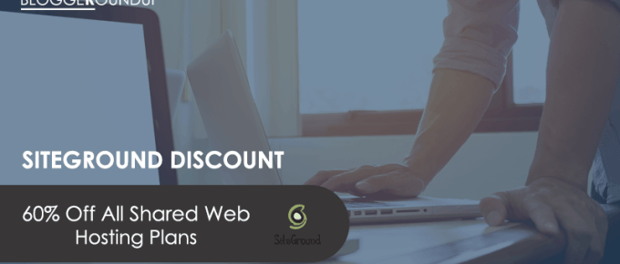 SiteGround Coupon: 60% Off All Shared Web Hosting Plans