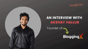 Interview with Akshay Hallur