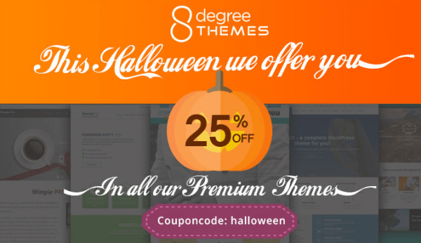 8 degree themes halloween deal