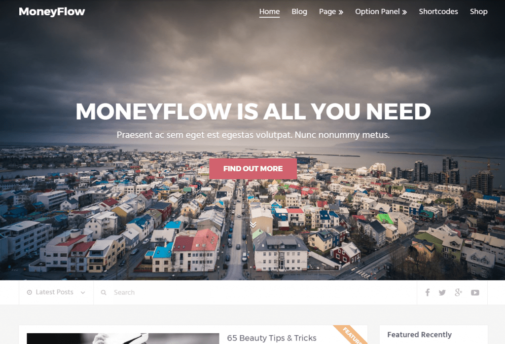 MoneyFlow Affiliate WordPress Theme