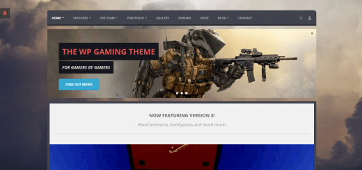 Oblivion - Multipurpose Gaming Theme