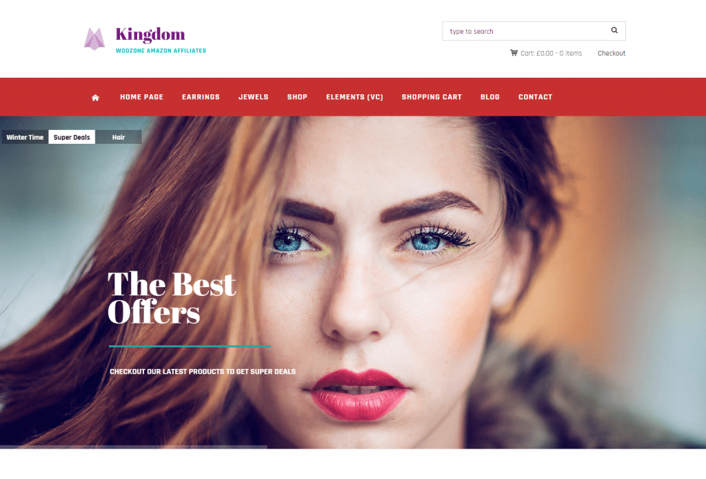 Kingdom - WooCommerce Amazon WordPress Theme