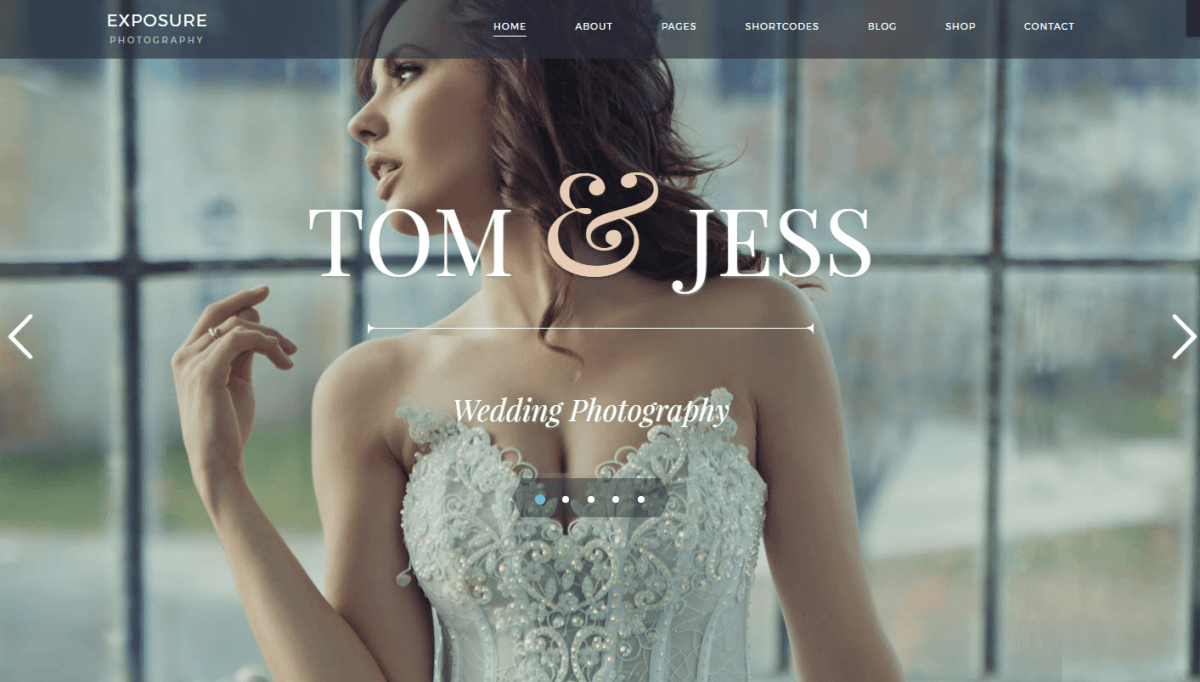 Top 5 Wedding Photography Business WordPress Themes & Templates