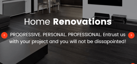 Renovation WordPress Theme