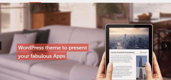 App Showcase WordPress Theme