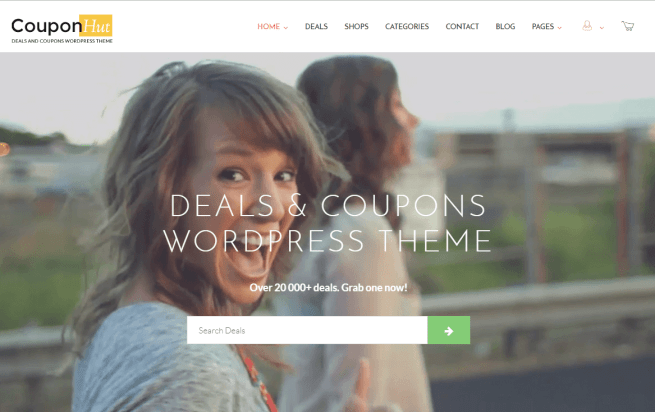 Coupon and Deals WordPress Theme