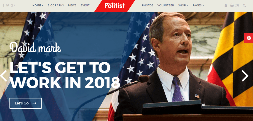 Political WordPress Theme