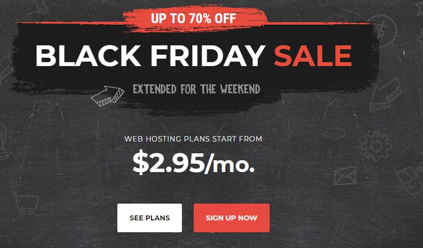 SiteGround Black Friday Sale