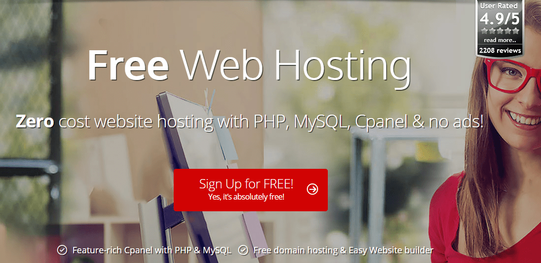 000Webhost Review: Get Free Web Hosting For WordPress At A Zero Cost