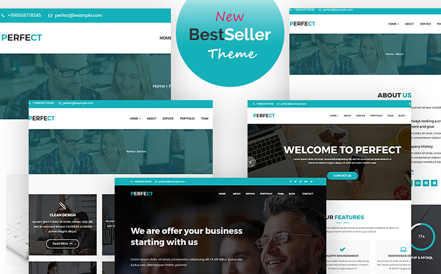 Perfect Corporate WordPress Theme
