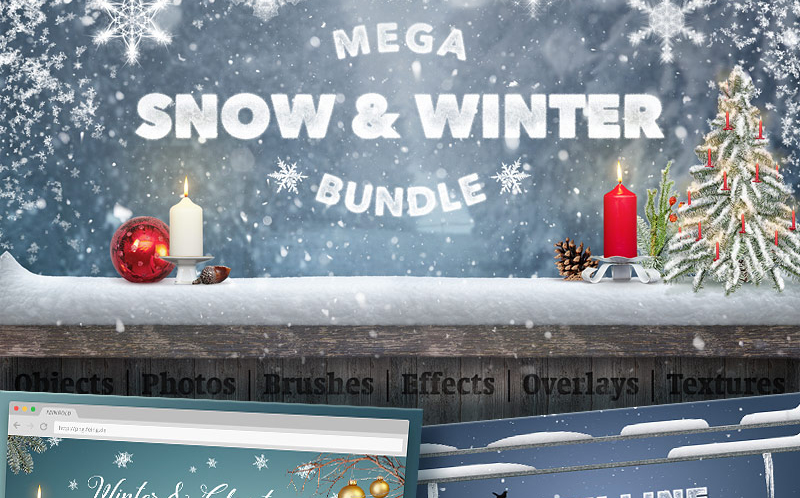 Mega Snow and Winter Bundle Bundle