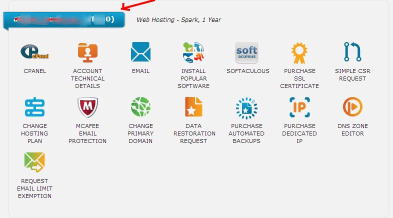 Web Hosting Hub Account Management Panel 2