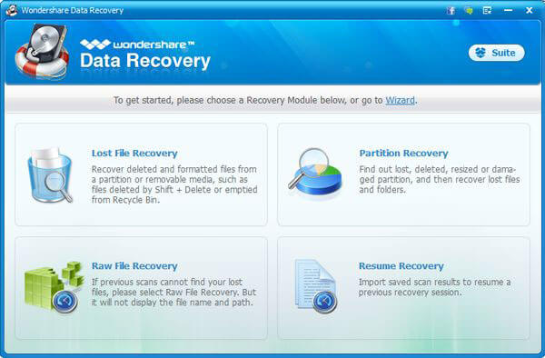 wondershare data recovery instructions
