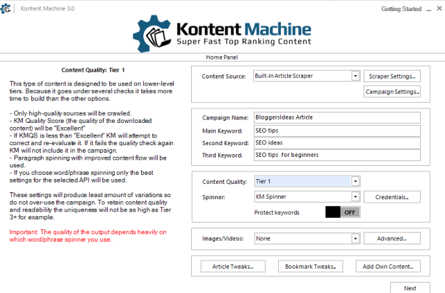 Kontent machine review tutorial