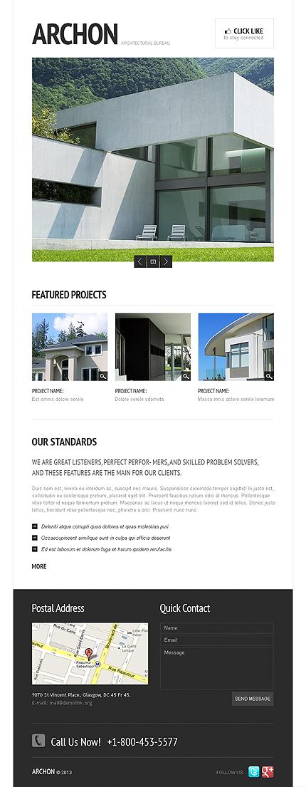 Architecture Facebook Template