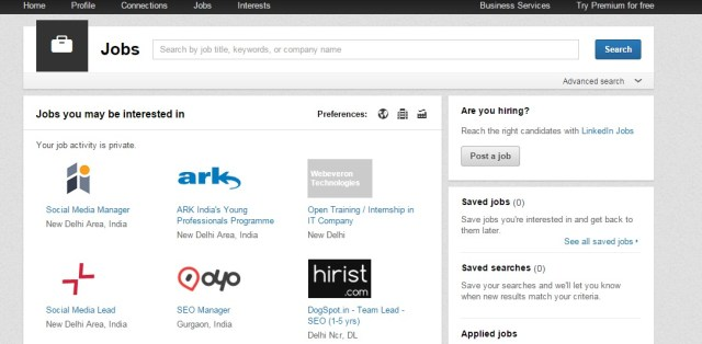 Jobs Home LinkedIn - freelance jobs in india