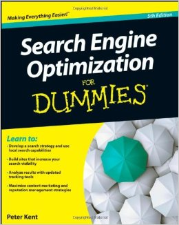 Search Engine Optimization for Dummies written by Peter Kent