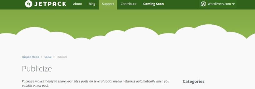 Create A Blog Easily- Jetpack plugin