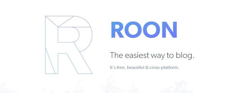 roon io blogging platform