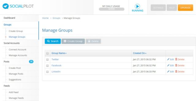 manage social media groups
