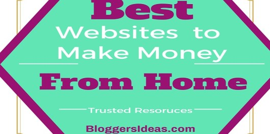Best 8 Trusted Websites to Make Money Online from Home