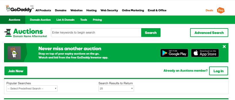 godaddy-domain-auction-buy-sell-distinctive-domains