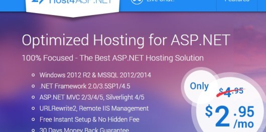 How about Hosting a Personal Blog with Host4ASPNET