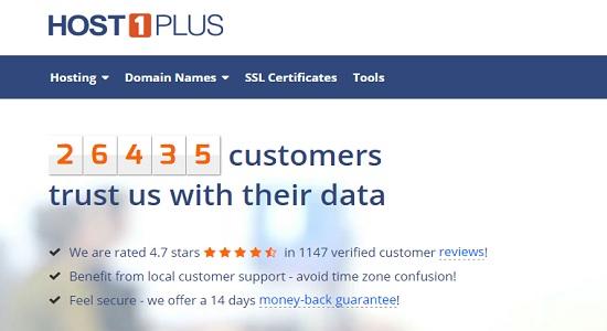 Host1plus review VPS hosting