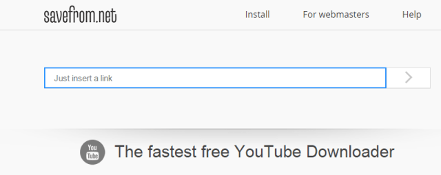 Saveform The fastest free YouTube Downloader