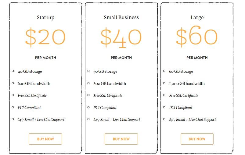 asmallorange business hosting plan