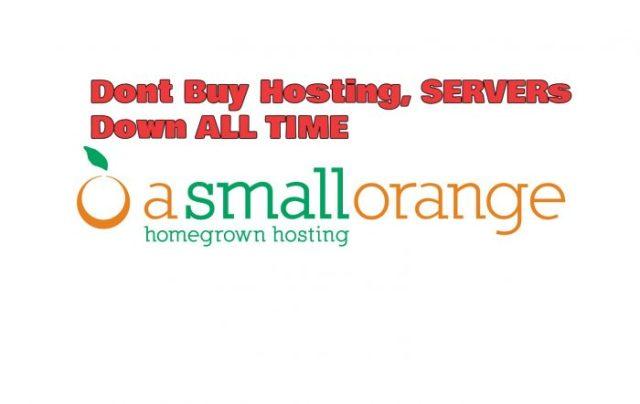 a small orange review hosting scam