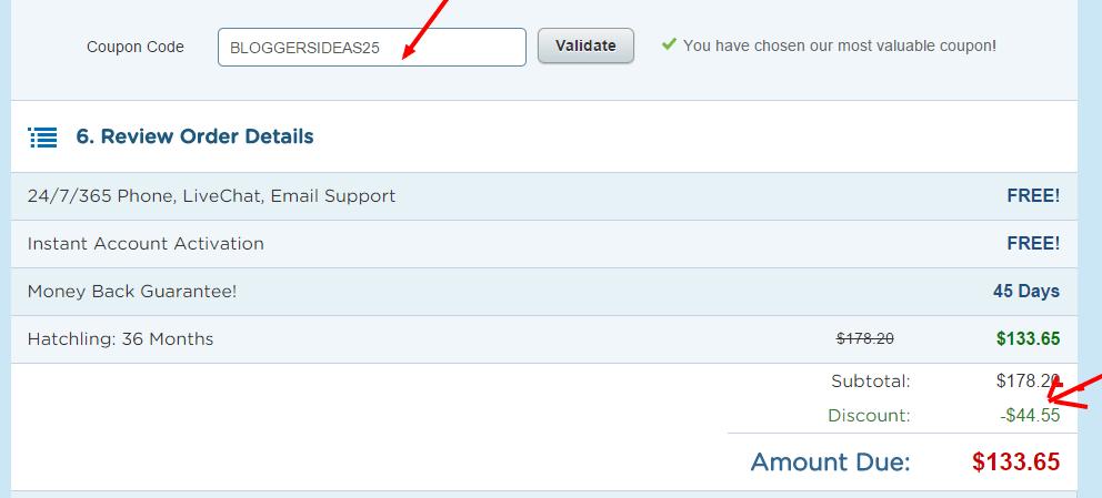 Hostgator voucher code