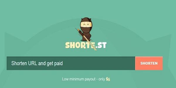 Shorte.st Review earn money