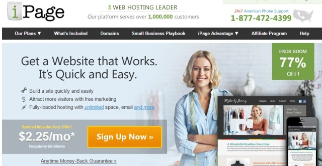 ipage hosting review - Hosting Provider Australia