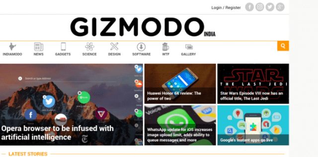 Gizmodo India - Best Tech Blog