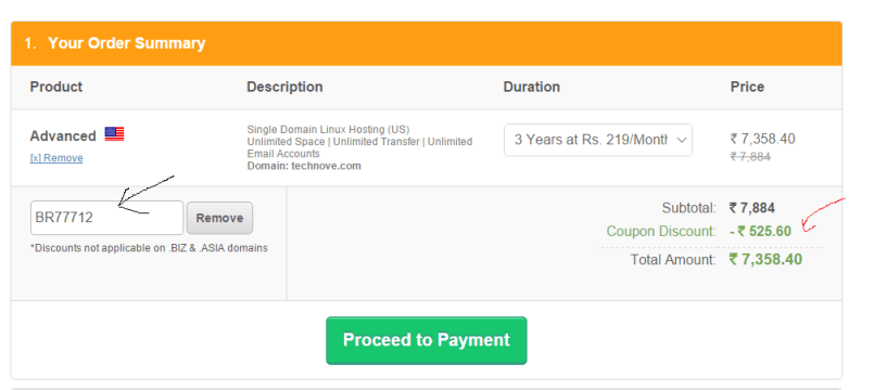 bigrock coupon code promo code discount code 2015