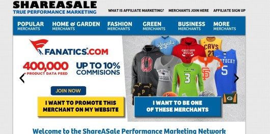 shareasale affiliate  program review