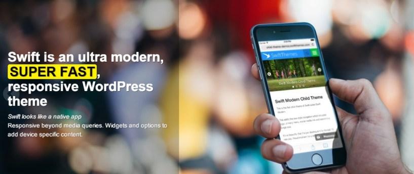 swiftthemes features mobiel responsive
