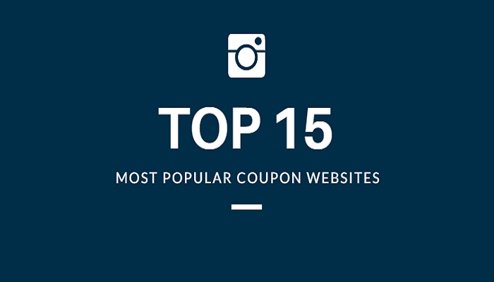 Top Best 15 Most Popular Coupon Websites